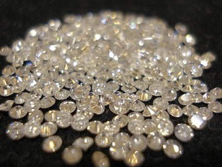 kim cương làm dẹp