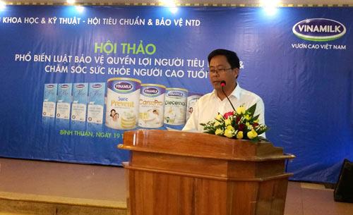 Vinamilk chăm sóc người cao tuổi Bình Thuận - 1