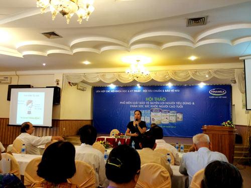 Vinamilk chăm sóc người cao tuổi Bình Thuận - 5