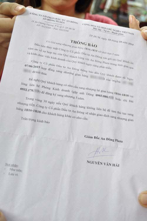 TP.HCM: Tiểu thương chợ An Đông đồng loạt phản đối vì giá thuê sạp quá cao - 6