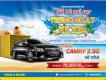 Cơ hội rinh Toyota Camry 2.5G về nhà cùng Nam A Bank