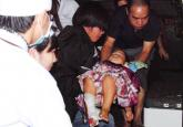 Cô gái tập lái ôtô đâm loạn xạ vào đám đông