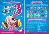 Mua 2 được 3 tại kem Baskin Robbins