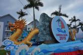 Cận cảnh xe hoa diễu hành đêm hội Carnaval 2015