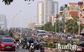 """Ngộp thở vì xe máy """"nhung nhúc"""" khắp Hà Nội"""