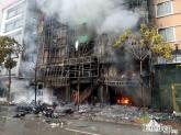 Vì sao dập lửa vụ cháy ở Trần Thái Tông mất nhiều tiếng đồng hồ?