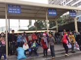 Nhà xe không chở khách khiến hành khách nhốn nháo chờ đợi ở bến xe Mỹ Đình