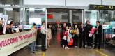 Đón những hành khách quốc tế đầu tiên đến Đà Nẵng