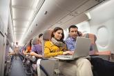 Dịch vụ hỗ trợ dùng laptop trên chuyến bay đến Mỹ của Emirates