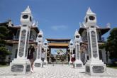 Tàu lượn dạng treo lớn nhất VN ra mắt tại Asia Park