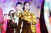 Diễn viên Yan My mộng mơ với áo cưới của NTK Nhật Dũng
