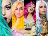 Choáng với 8 cuộc thử nghiệm màu tóc điên cuồng của Lady Gaga