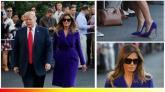 """""""Bộ sưu tập thời trang"""" của bà Trump khi công du châu Á"""