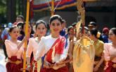 Lễ hội cổ truyền Angkor Songkran của người Campuchia