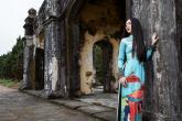 Nàng thơ xứ Huế diện áo dài mừng Festival Huế