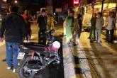 Xe máy chở 3 lao lên vỉa hè, nam thanh niên tử vong