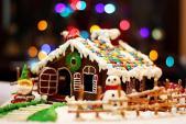 Bánh nhà gừng cực lung linh đón Giáng Sinh