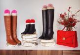 Chế phụ kiện giúp giữ dáng chuẩn cho đôi boot