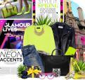 Mix đồ Neon bắt mắt cho mùa hè