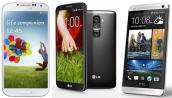 So sánh cấu hình LG G2 với Xperia Z Ultra, HTC One và Galaxy S4