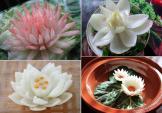 4 cách tỉa hành tây thành hoa thật dễ dàng