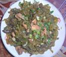 Hiếm có, ăn đặc sản rêu ở Thanh Hóa