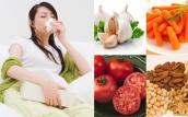 6 thực phẩm đẩy lùi bệnh viêm xoang khi thay đổi thời tiết