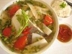 Măng chua nấu cá giải nhiệt mùa hè