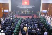 Trực tiếp lễ viếng Đại tướng Võ Nguyên Giáp