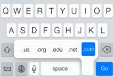 Những bí mật của bàn phím iOS 7