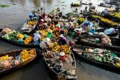 Đi chợ nổi miền Tây giữa lòng Hà Nội