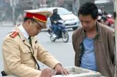 Lỗi vi phạm giao thông phổ biến của người điều khiển xe máy (P1)