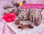 Bánh quy socola nhân caramel ngọt ngào