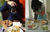 """""""Nghiện"""" chụp ảnh món ăn: Coi chừng rối loạn tâm thần!"""