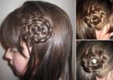 Tết tóc bông hoa lãng mạn nhân dịp Valentine