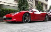 Bộ sưu tập Ferrari 458 Italia của đại gia Hà Nội