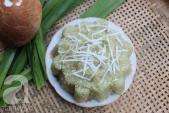 Dẻo thơm hấp dẫn món xôi dừa lá dứa