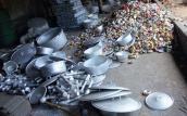 Nguy cơ nhiễm độc từ lò tái chế nhôm