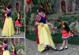 Người mẹ tự may cho con gái 1  tủ quần áo Disney cực đẹp