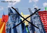 Mẹo bảo quản và cách giặt quần jean không phai màu