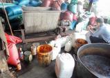 Cận cảnh việc sản xuất cafe giả từ đậu nành và hóa chất