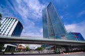Thang máy bị rơi 30 tầng ở Lotte Center