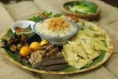 Thưởng thức món gà lên mâm hút khách tại Hà Nội
