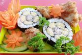 Cơm cuộn sushi vừa ngon lại đẹp