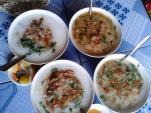 Về ngã ba Đồng Lộc, ăn bát cháo lươn đồng
