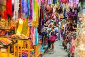 10 khu chợ đường phố hấp dẫn nhất thế giới