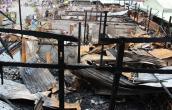 Chập điện trong tiệm vàng gây cháy chợ, thiệt hại 8 tỷ đồng