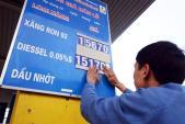 Giá xăng giảm 1.900 đồng/lít từ 16h