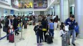 Sân bay Phú Bài hủy nhiều chuyến bay vì gió lớn