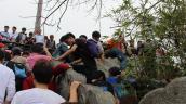 Yên Tử chưa khai hội đã chen chúc khách leo trèo